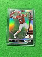 BAKER MAYFIELD SILVER PRIZM CARD JERSEY #6 BROWNS 2020 Prizm DP REFRACTOR PRIZM