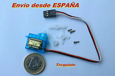 Nano Servo 3,7gr, analogico 0,8kg de torque radiocontrol, robótica, arduino.