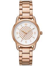 NWT Kate Spade New York Women's Boathouse Rose Gold Bracelet Watch 30mm KSW1167