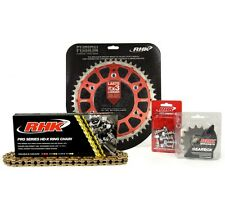 Honda CR250R 2006 2007 Gold X-Ring Chain Red Rear Front Sprocket Kit