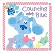 Blue's Clues: Counting with Blue by Lauryn Silverhardt (2001, Board Book)