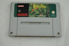 Jeu SECRET OF MANA pour Super Nintendo SNES version PAL