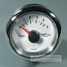 VDO MARINE ÖLDRUCKANZEIGER OELDRUCK 5 bar 12/24V  INSTRUMENT OIL PRESSURE GAUGE