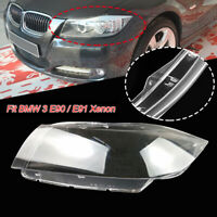 Popular Left Xenon Headlight Lens Headlamp Shell Fit for BMW 3 Series E90 Sedan