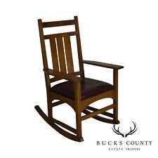 Stickley Mission Collection Oak Rocker