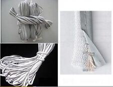 20 Yard Silver Reflective Piping Fabric Strip Edging Braid Trim Sew On Craft DIY