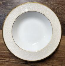 Rim Soup Bowl White Palace by Noritake Pattern 4753