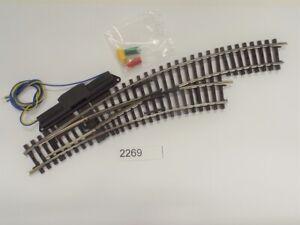 MÄRKLIN 2269 K-Gleis Bogenweiche rechts r360 mm #NEU# 1 Stück#