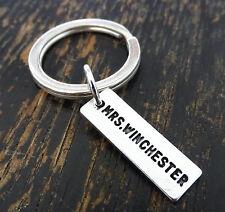 Mrs Winchester Keychain, Supernatural Keychain, Dean Winchester, Supernatural