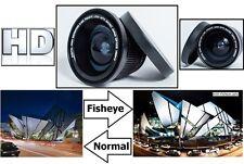 Digital HD Super Fisheye Lens with Macro For Sony HXR-NX30U HXR-NX30