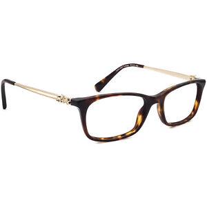 Coach Women's Eyeglasses HC 6110 5485 Dark Tortoise Horn Rim Frame 50[]16 140