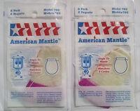 Lantern Mantle; Single Tie; # 21 Tie Style Mantle; SKU # 785; 2 Packs/4 Mantles