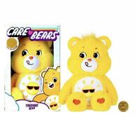 Care Bears FUNSHINE BEAR 2020 Huggable Soft 14 inch Plush NEW in Box
