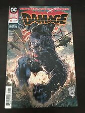 Damage #1 2018 DC 1st print NM 9.4 Unread