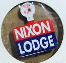 Nixon Lodge campaign Lapel Tab