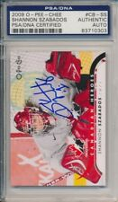 Shannon Szabados Autographed Signed 2009 O-Pee-Chee Rookie Card (PSA Authentic)