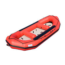 BRIS 13ft Inflatable River Raft 6 Person White Water Rescue Raft FloatingTubes