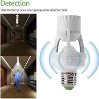 E27 LED Light Sensor Socket Lamp Bulb Holder