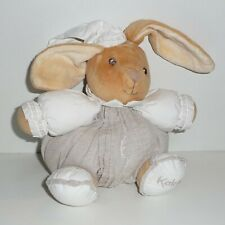 Doudou Lapin Kaloo - Collection Lin dragée