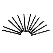 Lot 12pcs WATERPROOF Black Cosmetic Eye Liner Eyeliner Pencil Pen Makeup