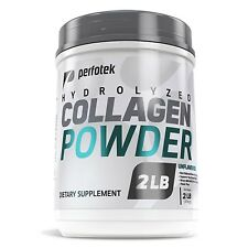 ▶ Collagen Peptides 2LB Hydrolyzed Anti-Aging Protein Powder Kosher 82 Servings