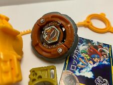 BEYBLADE HASBRO RARE Rock Gasher DF145WB+Launcher Metal Fusion Masters Fury 4D