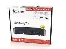 NEW Ikonvert Digital TV Converter Box SC-58 New In Box!
