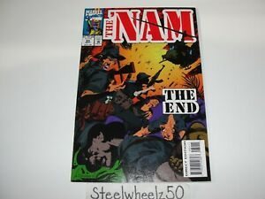 The Nam #84 Comic 1993 Marvel FINAL ISSUE Don Lomax Saichann Vietnam War RARE