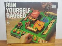 RUN YOURSELF RAGGED vintage Tomy Marble Maze Obstacle Course No Timer 1979