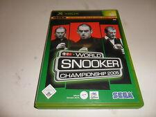 XBox  World Snooker Championship 2005