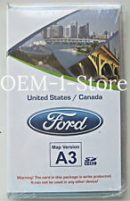 2012 LINCOLN MKX SPORT UTILITY SUV MYFORD NAVIGATION DATA SD CARD A3 USA CANADA