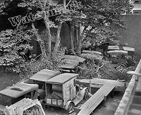 Photograph Vintage Automobile Junkyard Washington DC Year 1924  8x10