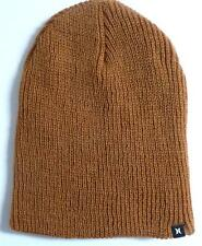 Hurley Unusual Beanie Golden Khaki Hat Cap Water Repellent New NWT