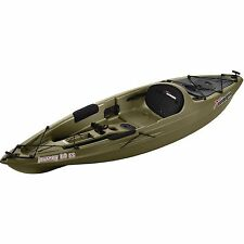 Sun Dolphin Journey Military Green 10' Sit-On Fishing Kayak with Paddle