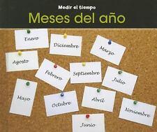 Meses del año (Medir el tiempo) (Spanish Edition)-ExLibrary