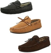Minnetonka Men's Casey Moccasin Slipper