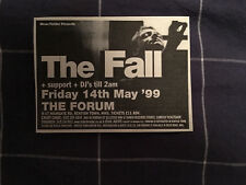 THE FALL / MARK E SMITH - SMALL ORIGINAL MAY 1999 NME ADVERT - CLIPPING/CUTTING