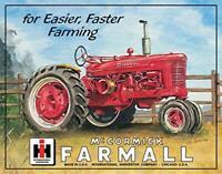 """Farmall M Tin Sign, 16"""" W x 12.5"""" H"""