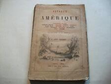 In francese. Umbria illustrata opera attraverso viaggi in America. Kol. lavagne U. holzschn