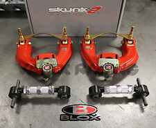 Skunk2 Pro Series Front / Blox Rear Camber Kit Combo 88-91 Honda Civic EF