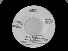 KAGNY & THE DIRTY RATS~ AT 15~NEAR MINT~PROMO~MOTOWN~1672~~ SOUL 45