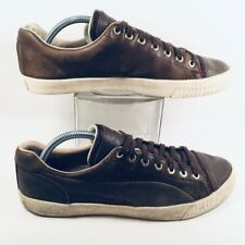 Puma Alexander McQueen Mens Street Climb III Brown Leather Shoes Sneakers US 10