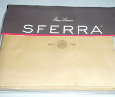 Sferra Giotto Twin Flat Sheet 590 TC Honey Egyptian Cotton Luminous Sateen New