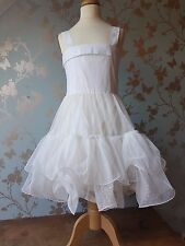 Jottum dress SILVA white size 140 - 10 agan communion wedding party birthday