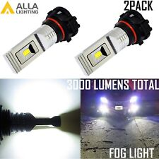 Alla Lighting 6000K 5202 LED High Power Driving Fog Light Bulb Lamp Bright White