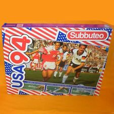 VINTAGE SUBBUTEO THE FOOTBALL GAME USA 94 EDITION TABLE SOCCER SET 60240 BOXED