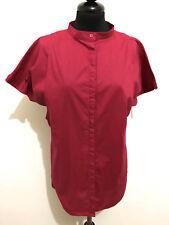 GIANNI VERSACE VINTAGE '80 Camicia Donna Blusa Woman Cotton Shirt Sz.M - 44