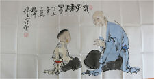 RARE Chinese 100%  Handed Painting By Fan Zeng 范增 CF13