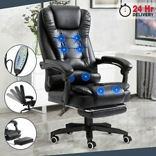 More details for massage executive office chair computer desk chair swivel recliner gaming chair