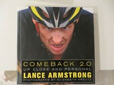 """LANCE ARMSTRONG Hand Signed Book """" COMEBACK 2.0 """" Autographed"""